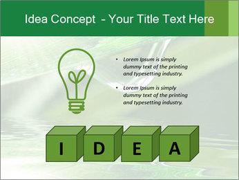 Fresh grass PowerPoint Template - Slide 80