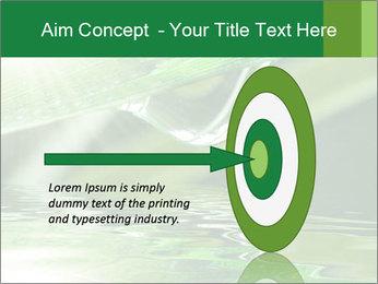 Fresh grass PowerPoint Template - Slide 83