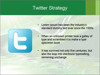Fresh grass PowerPoint Template - Slide 9