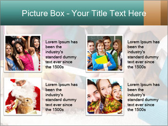 Gift box PowerPoint Template - Slide 14