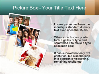 Gift box PowerPoint Template - Slide 17