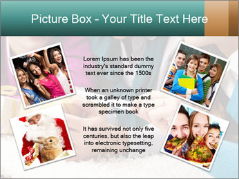 Gift box PowerPoint Template - Slide 24