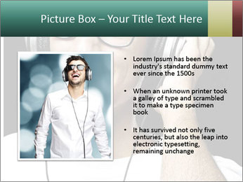 Young man with glasses PowerPoint Template - Slide 13