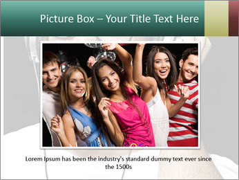 Young man with glasses PowerPoint Template - Slide 16