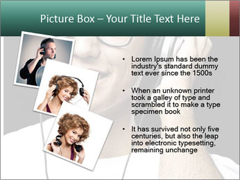 Young man with glasses PowerPoint Template - Slide 17