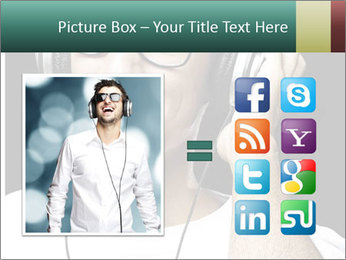 Young man with glasses PowerPoint Template - Slide 21