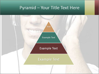 Young man with glasses PowerPoint Template - Slide 30