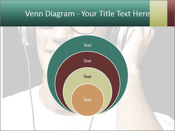 Young man with glasses PowerPoint Template - Slide 34