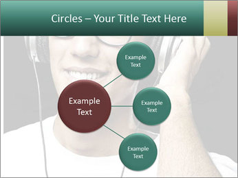 Young man with glasses PowerPoint Template - Slide 79