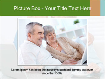 Couple  at laptop PowerPoint Template - Slide 15