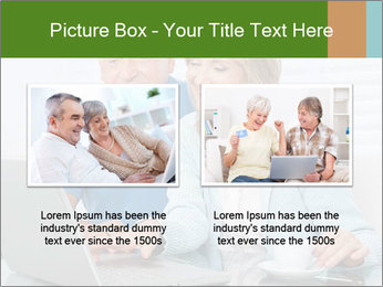 Couple  at laptop PowerPoint Template - Slide 18