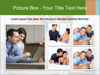 Couple  at laptop PowerPoint Template - Slide 19