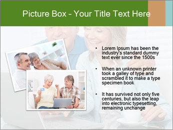 Couple  at laptop PowerPoint Template - Slide 20