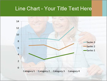 Couple  at laptop PowerPoint Template - Slide 54