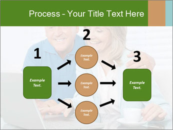 Couple  at laptop PowerPoint Template - Slide 92