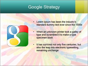 Flexible straws PowerPoint Template - Slide 10