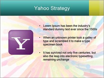 Flexible straws PowerPoint Template - Slide 11