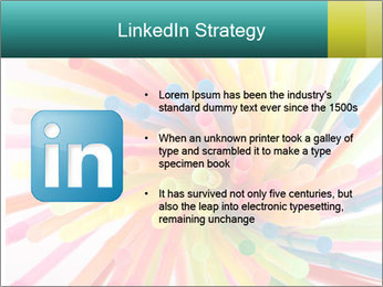 Flexible straws PowerPoint Template - Slide 12