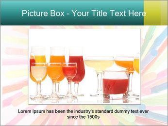 Flexible straws PowerPoint Template - Slide 15