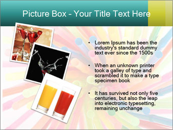 Flexible straws PowerPoint Template - Slide 17