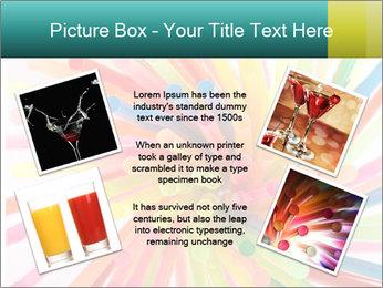 Flexible straws PowerPoint Template - Slide 24