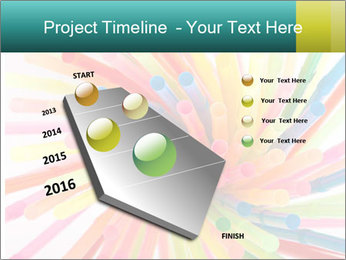 Flexible straws PowerPoint Template - Slide 26