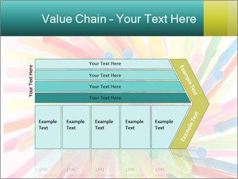 Flexible straws PowerPoint Template - Slide 27