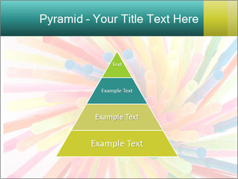 Flexible straws PowerPoint Template - Slide 30