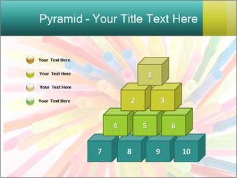 Flexible straws PowerPoint Template - Slide 31