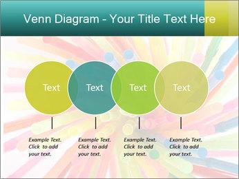 Flexible straws PowerPoint Template - Slide 32