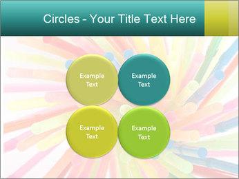 Flexible straws PowerPoint Template - Slide 38