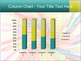 Flexible straws PowerPoint Template - Slide 50