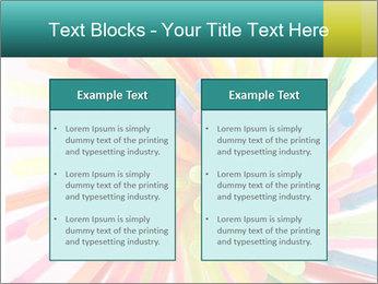 Flexible straws PowerPoint Template - Slide 57
