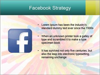 Flexible straws PowerPoint Template - Slide 6