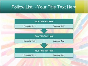 Flexible straws PowerPoint Template - Slide 60
