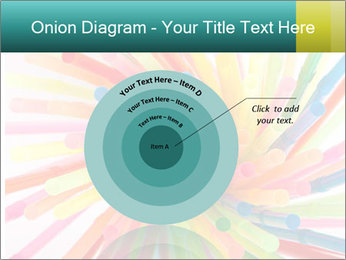 Flexible straws PowerPoint Template - Slide 61