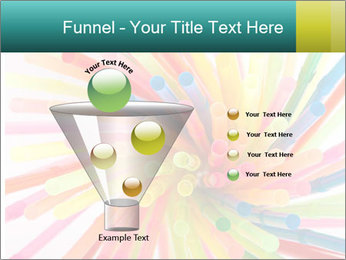 Flexible straws PowerPoint Template - Slide 63