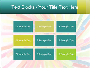 Flexible straws PowerPoint Template - Slide 68