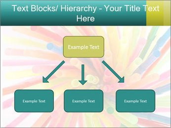 Flexible straws PowerPoint Template - Slide 69