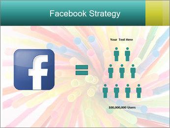 Flexible straws PowerPoint Template - Slide 7