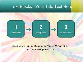 Flexible straws PowerPoint Template - Slide 71