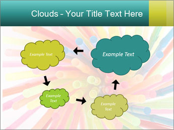 Flexible straws PowerPoint Template - Slide 72