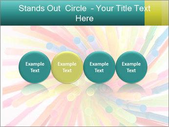 Flexible straws PowerPoint Template - Slide 76