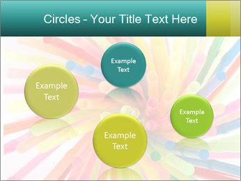 Flexible straws PowerPoint Template - Slide 77