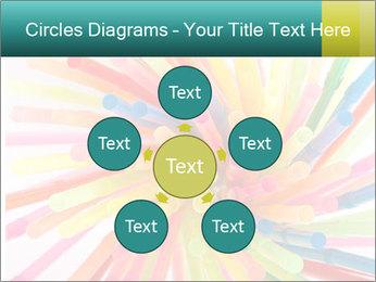 Flexible straws PowerPoint Template - Slide 78
