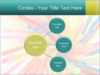 Flexible straws PowerPoint Template - Slide 79