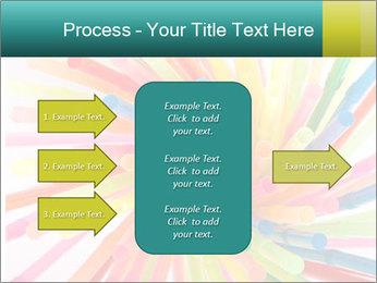 Flexible straws PowerPoint Template - Slide 85