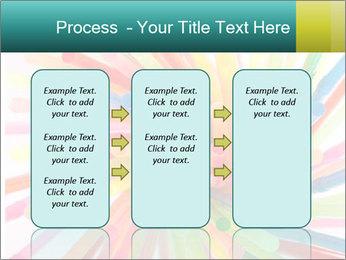 Flexible straws PowerPoint Template - Slide 86