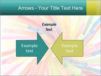 Flexible straws PowerPoint Template - Slide 90