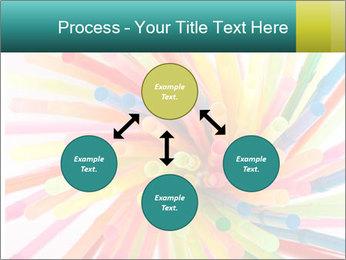 Flexible straws PowerPoint Template - Slide 91